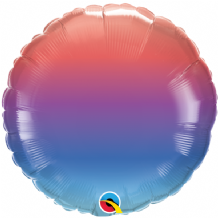 "Winter Ombre Foil Balloon (18"" Round) 1pc"